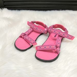 Teva pink sandals